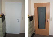 Beltéri ajtó felújítás fóliázás